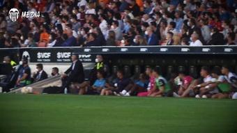 El Valencia empató en el alargue un partido que perdía 0-2 en el 90'. Dugout