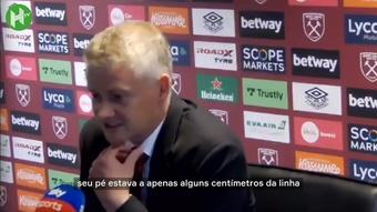 Solskjaer elogia De Gea e Lingard após vitória.