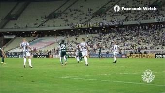 Zé Rafael revela conversa com Veiga antes de gol de falta contra o Ceará. DUGOUT