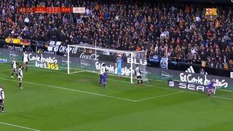 Il primo gol di Coutinho con il Barça. Dugout