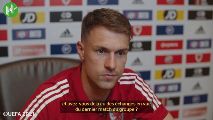 Ramsey se tient prêt à affronter d'anciens coéquipiers. Dugout