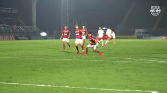 El golazo de Artur a Flamengo. DUGOUT