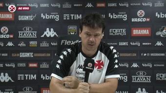 Diniz fala dos lances polêmicos da arbitragem no empate com o Cruzeiro. DUGOUT