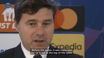 Pochettino has promised there'll be improvement after PSG's win v Leipzig. DUGOUT