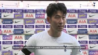 Son comenta vitória do Tottenham sobre o Aston Villa. DUGOUT
