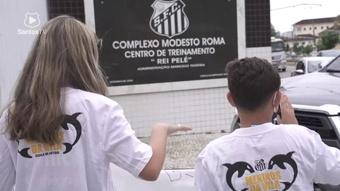 Sánchez agradece apoio de torcedores.