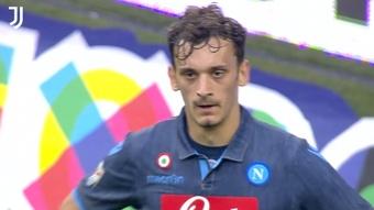 Gli interventi miracolosi di Buffon contro il Napoli. Dugout