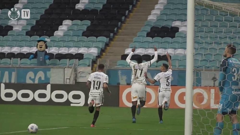 Com gol de Jô, Corinthians vence o Grêmio em Porto Alegre. DUGOUT