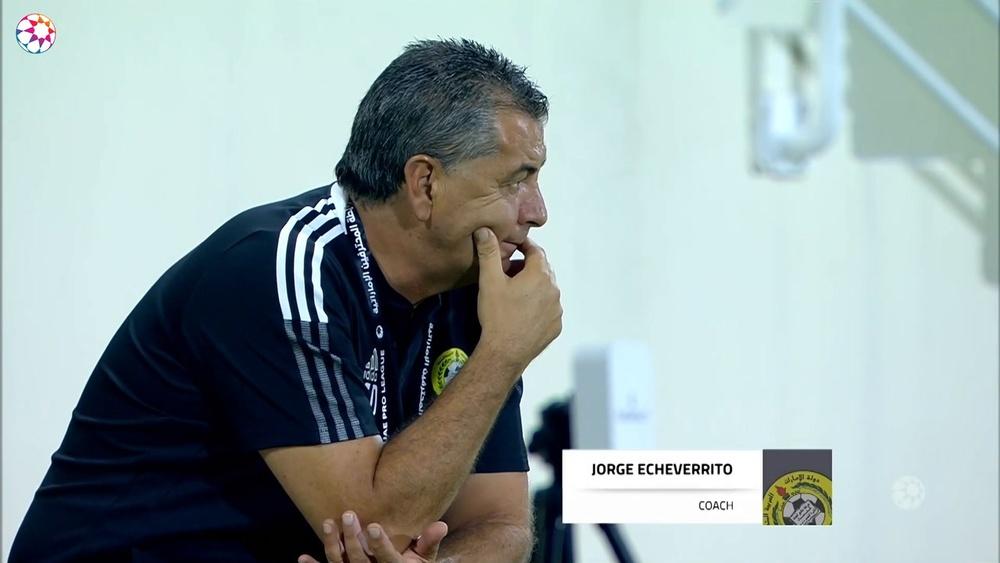 Al Dhafra got a second half equaliser to get a 1-1 draw. DUGOUT