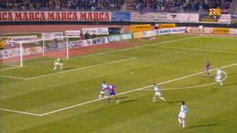 Ronaldo y su legendario gol ante el Compostela. DUGOUT