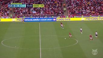 VÍDEO: el golazo de Andreas Pereira a Athletico Paranaense. DUGOUT