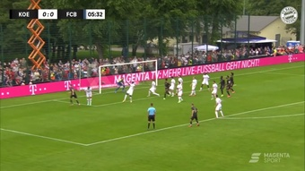 El Bayern perdió contra el Köln. DUGOUT