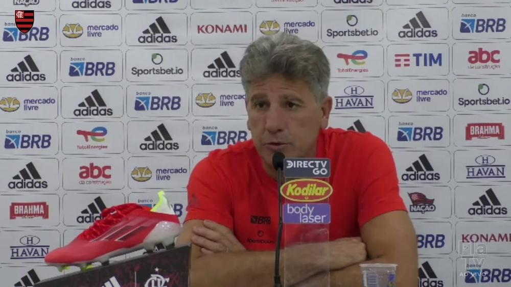 Técnico do Flamengo falou após empate por 1 a 1 com o América-MG. DUGOUT