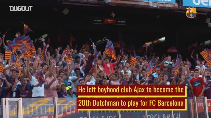 De Jong has become an integral part of Koeman's side. DUGOUT