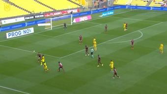 Le superbe but collectif de Kolo Muani contre Metz. Dugout