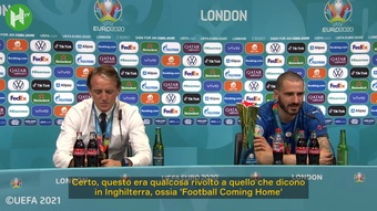 Bonucci commenta la vittoria. Dugout