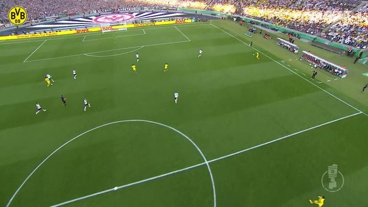 VIDÉO: La victoire de Dortmund en Coupe d'Allemagne 2017. Dugout