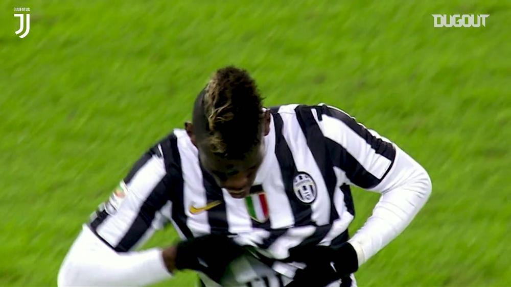 Lo strepitoso gol a distanza di Pogba contro la Samp, Dugout