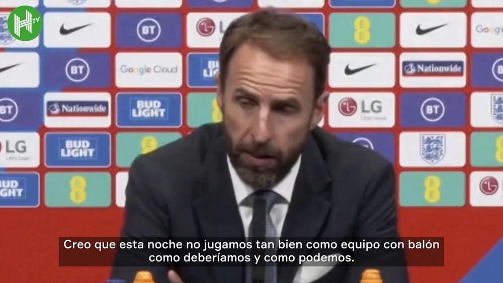 Inglaterra no pudo pasar del empate 1-1 frente a Hungría. DUGOUT