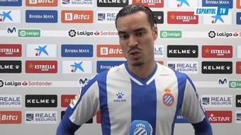 El Espanyol ganó 2-0 al Cádiz en Liga. DUGOUT