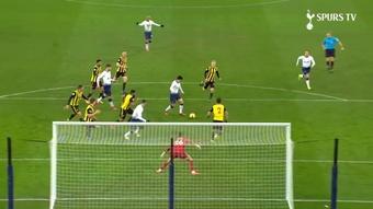 Son Heung-min likes scoring against Watford. DUGOUT