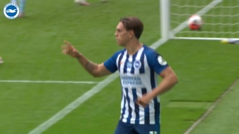 Leandro Trossard gave Brighton the lead at Newcastle. DUGOUT