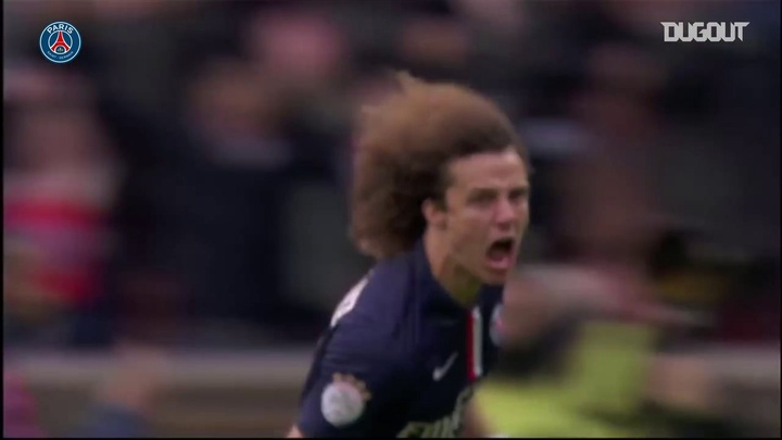 Tutti i gol di David Luiz con il PSG. Dugout