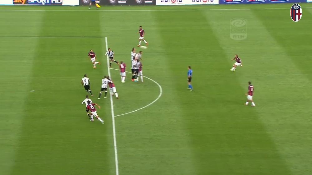 I migliori gol fuori casa del Bologna contro l'Udinese. Dugout