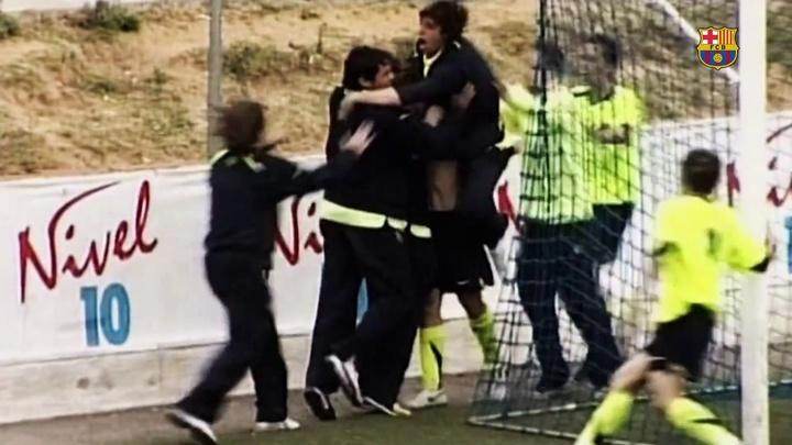 VIDEO : Les meilleurs buts de Bojan Krkic à la Masia. AFP