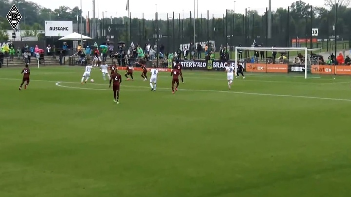 Monchengladbach beat Metz 1-0 in a friendly. DUGOUT