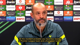 Nuno did not regret the decision to rest Son and Kane in Holland. DUGOUT