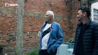 Vasco lança campanha de financiamento coletivo para confecção de estátua de Dinamite. DUGOUT