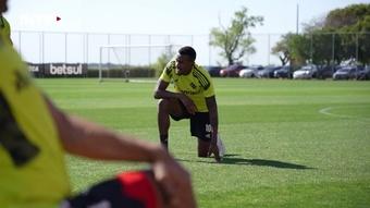 Inter treina para enfrentar o Corinthians. DUGOUT