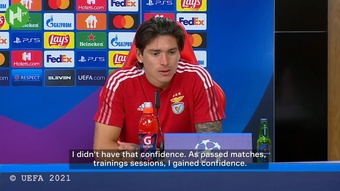 Darwin Nunez spoke after a terrific night for himself and Benfica. DUGOUT