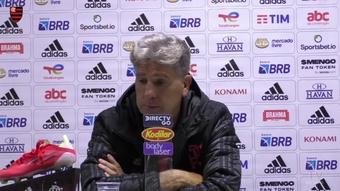 Renato Gaúcho explica saída de Michael no empate com o Athletico. DUGOUT