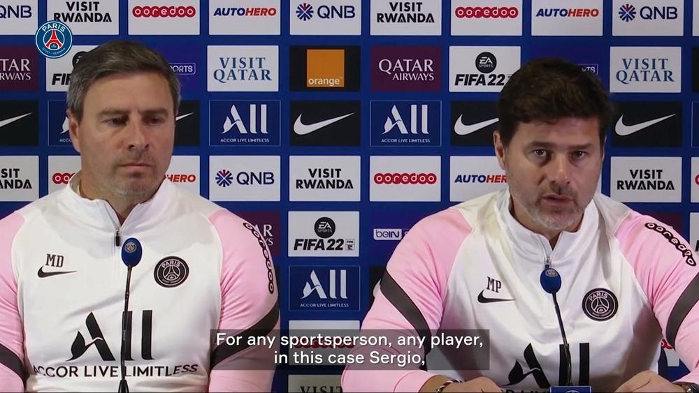 Pochettino speaks on Sergio Ramos' situation. DUGOUT