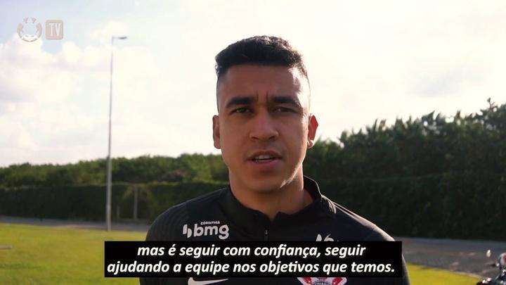 Cantillo fala sobre seu momento e revela ajuda de Sylvinho. DUGOUT