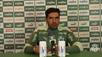 Abel Ferreira elogia torcida do Palmeiras.