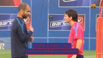 L'impatto di Pep sulla carriera calcistica di Messi. Dugout