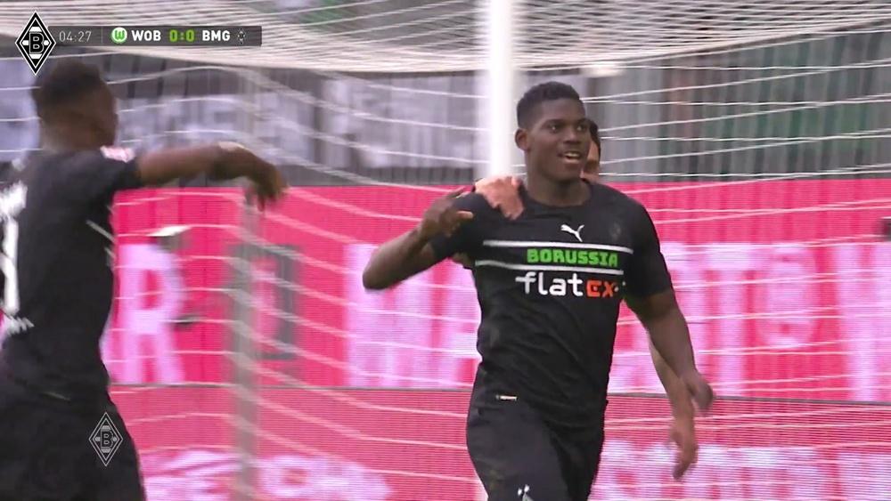Breel Embolo inspiré face à Wolfsburg. Dugout