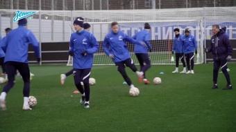 Zenit finaliza preparação para encarar a Juventus na Champions. DUGOUT