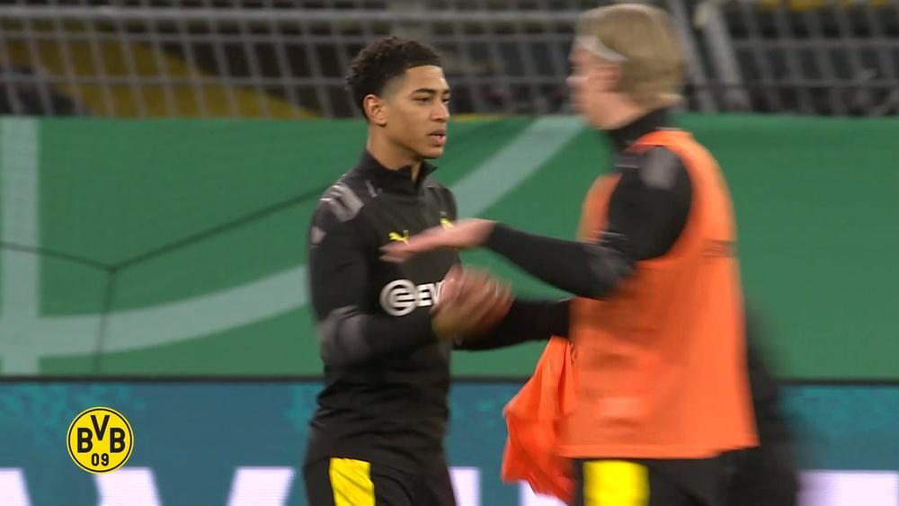 Belos lances de Jude Bellingham pelo Borussia Dortmund. DUGOUT