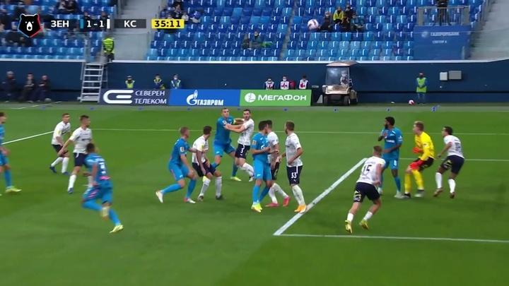Claudinho dá assistência em vitória do Zenit no Campeonato Russo. DUGOUT