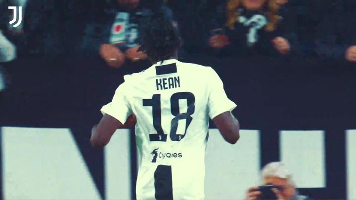 La Juventus annuncia il ritorno di Moise Kean. Dugout