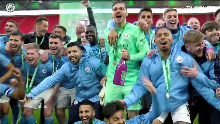 VIDÉO: Les huit succès de Manchester City en Coupe de la Ligue. Dugout