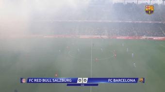 Le Barça a perdu en amical face à Salzbourg. Dugout