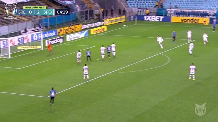 Le but sublime de Douglas Costa avec Grêmio. dugout