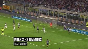 Higuain ribalta il Derby d'Italia nel finale. Dugout