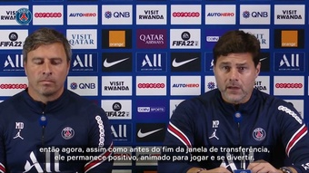 Pochettino fala sobre Mbappé, disputa no gol e situação de Sérgio Ramos. DUGOUT