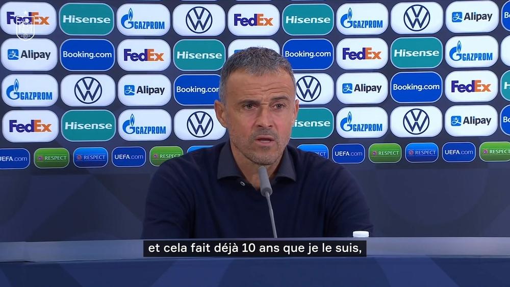 Luis Enrique refuse de commenter le but de Mbappé. Dugout